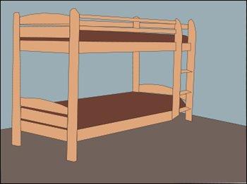 Bed clip art clipart free microsoft 4 3