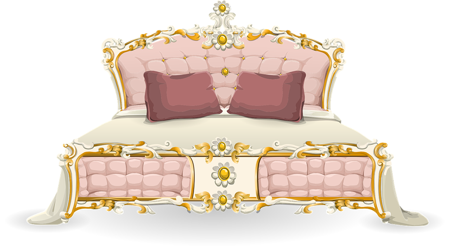 Bed free to use clip art