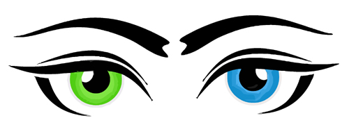 Blue eye clip art free clipart images