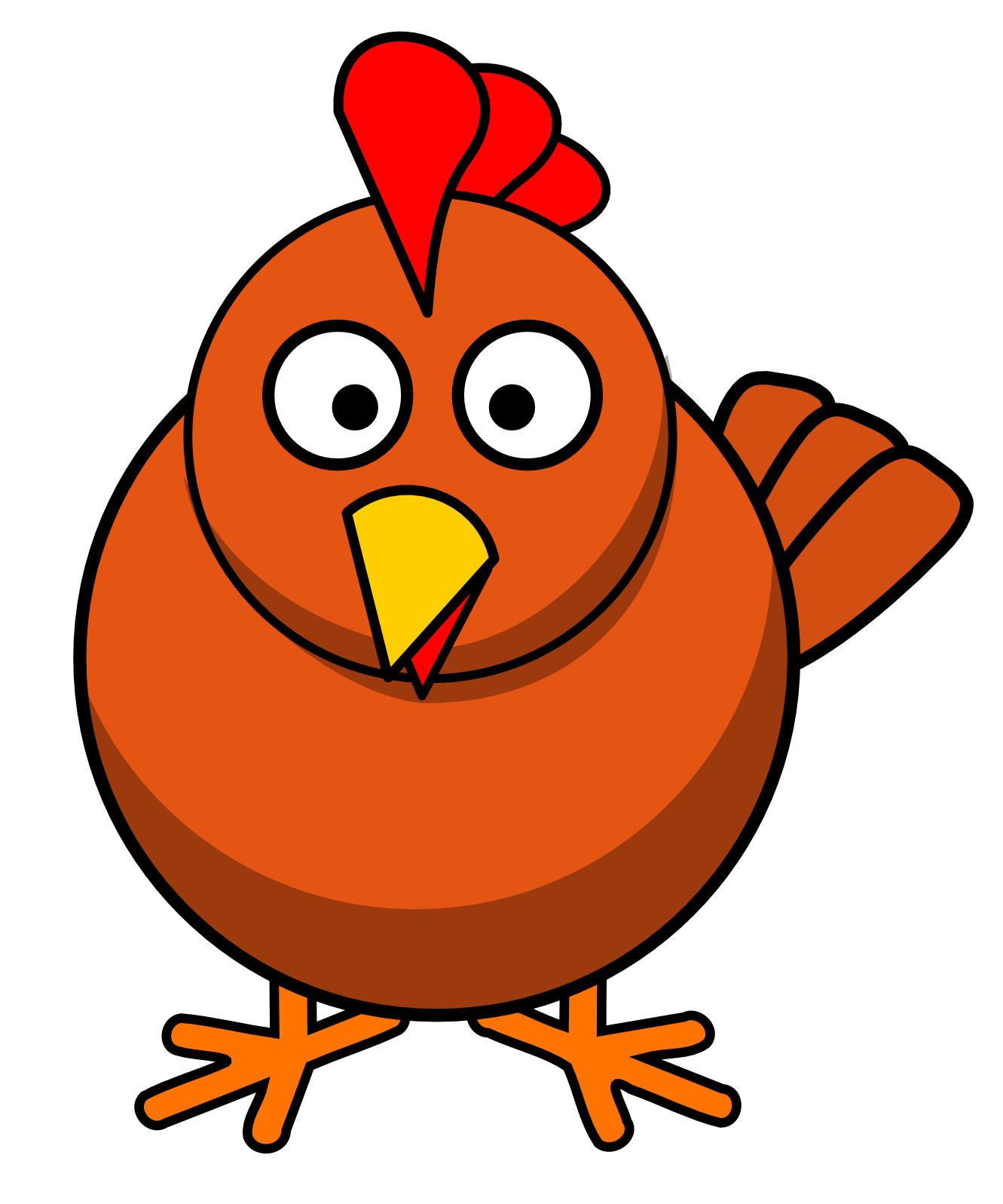 Chicken egg clipart free images 2