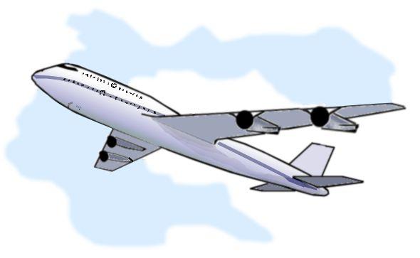 Clip art airplane clipart