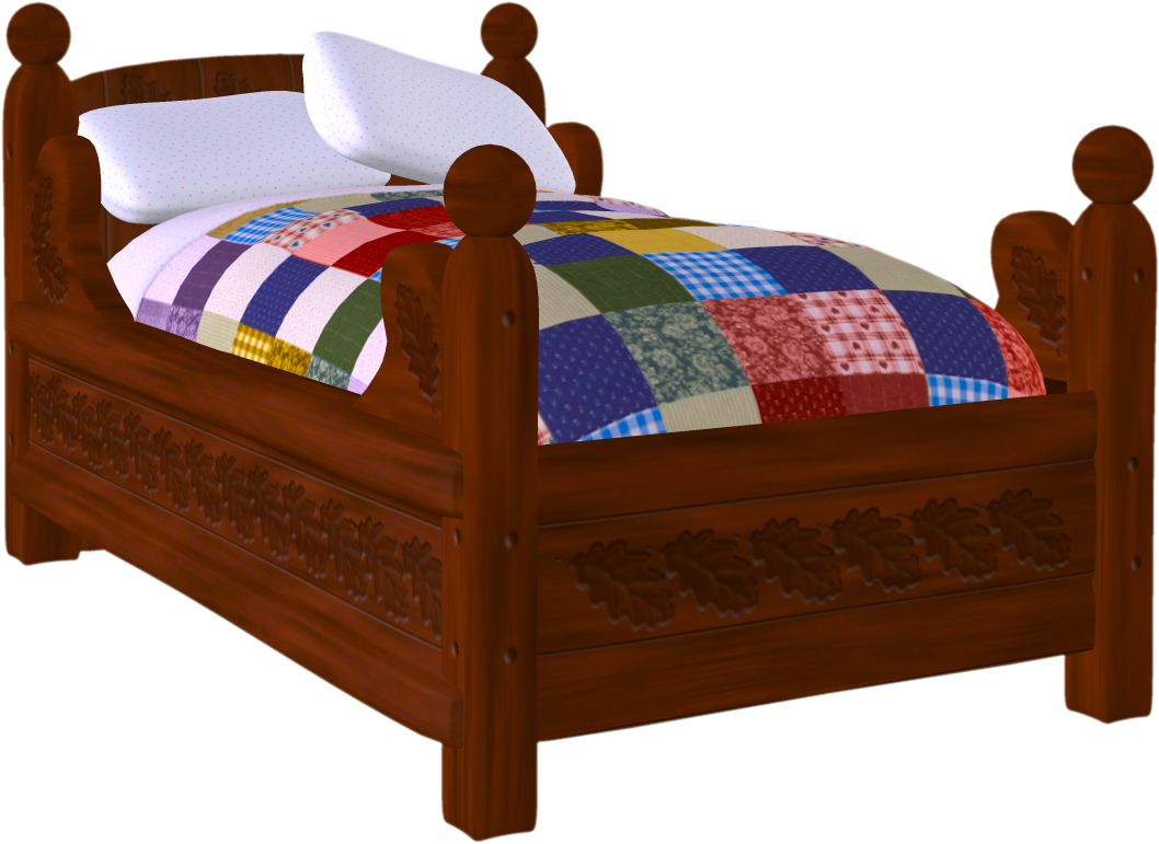 Clipart bed 2