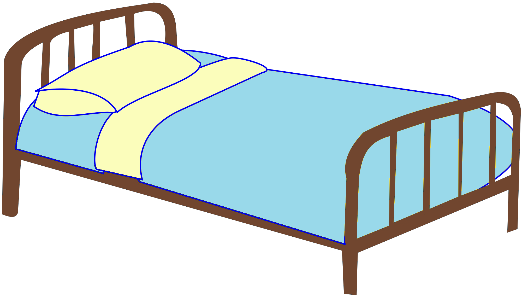 Clipart bed 3