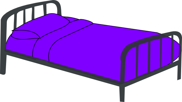 Clipart bed 4