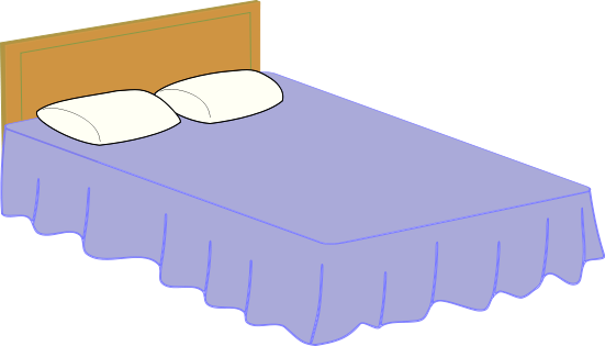 Clipart bed 5