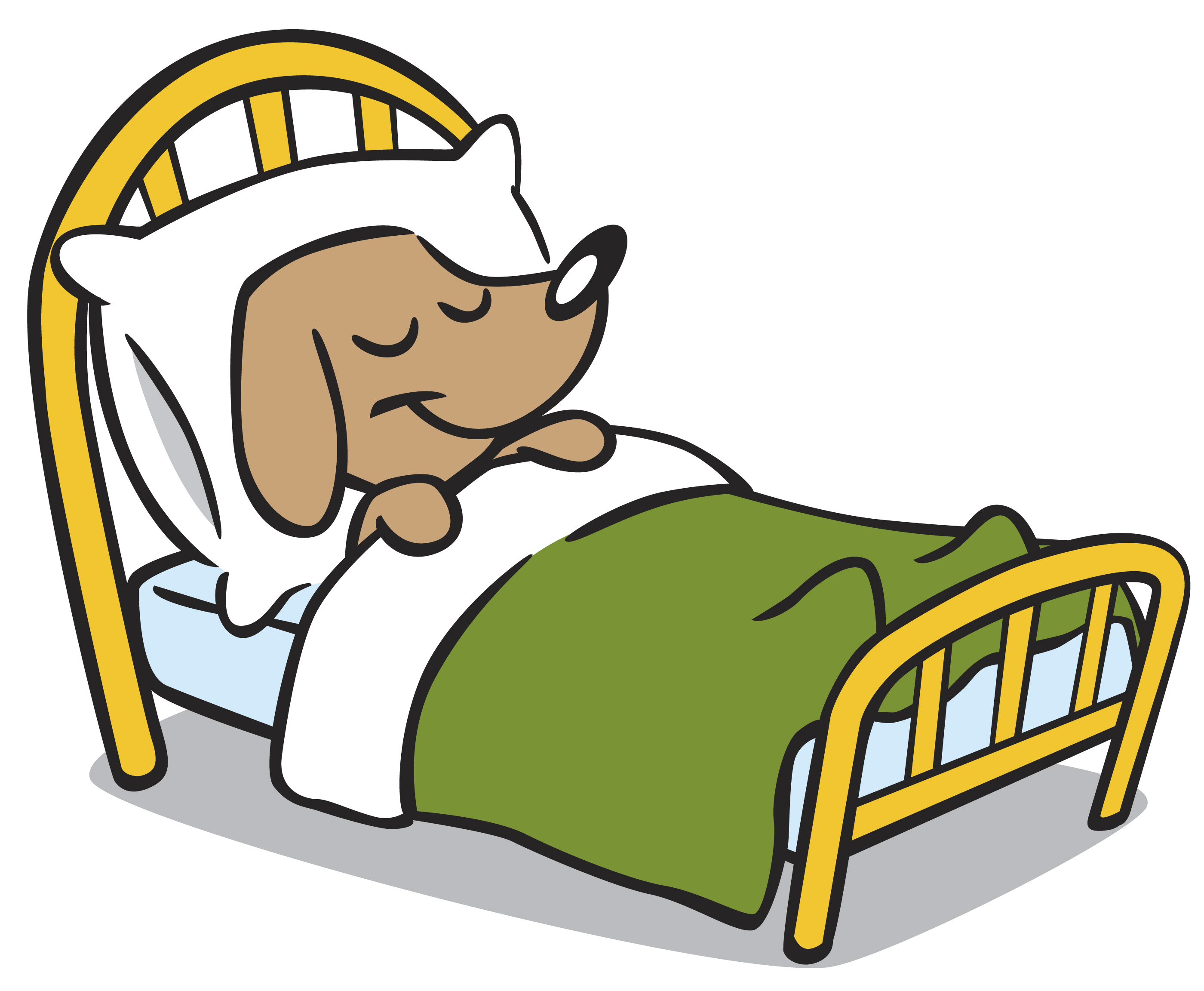 Clipart bed clipart 3