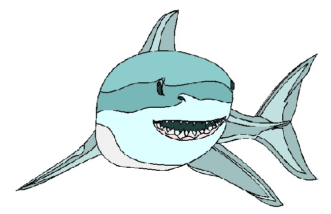 Clipart images of shark 2
