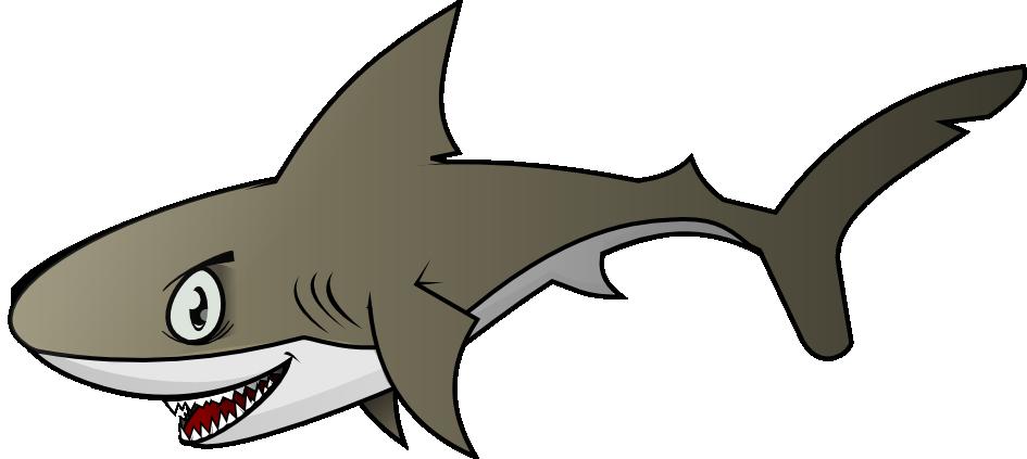 Cute shark clip art free clipart images