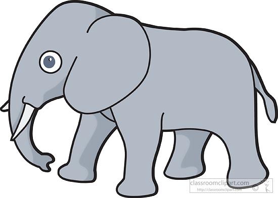 Elephant clip art free clipart images