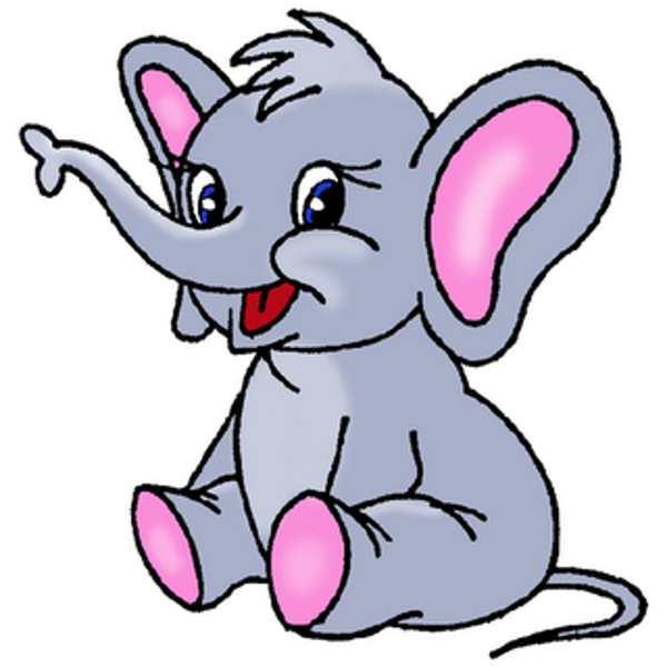 Elephant clip art image 3 3