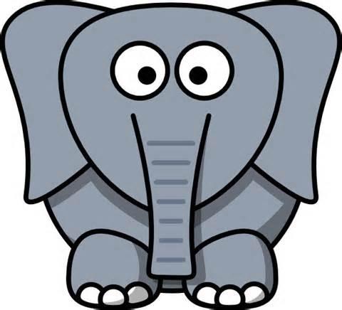 Elephant clipart 4