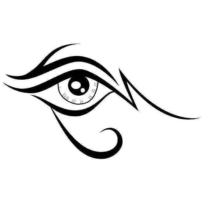 Eye clipart 4