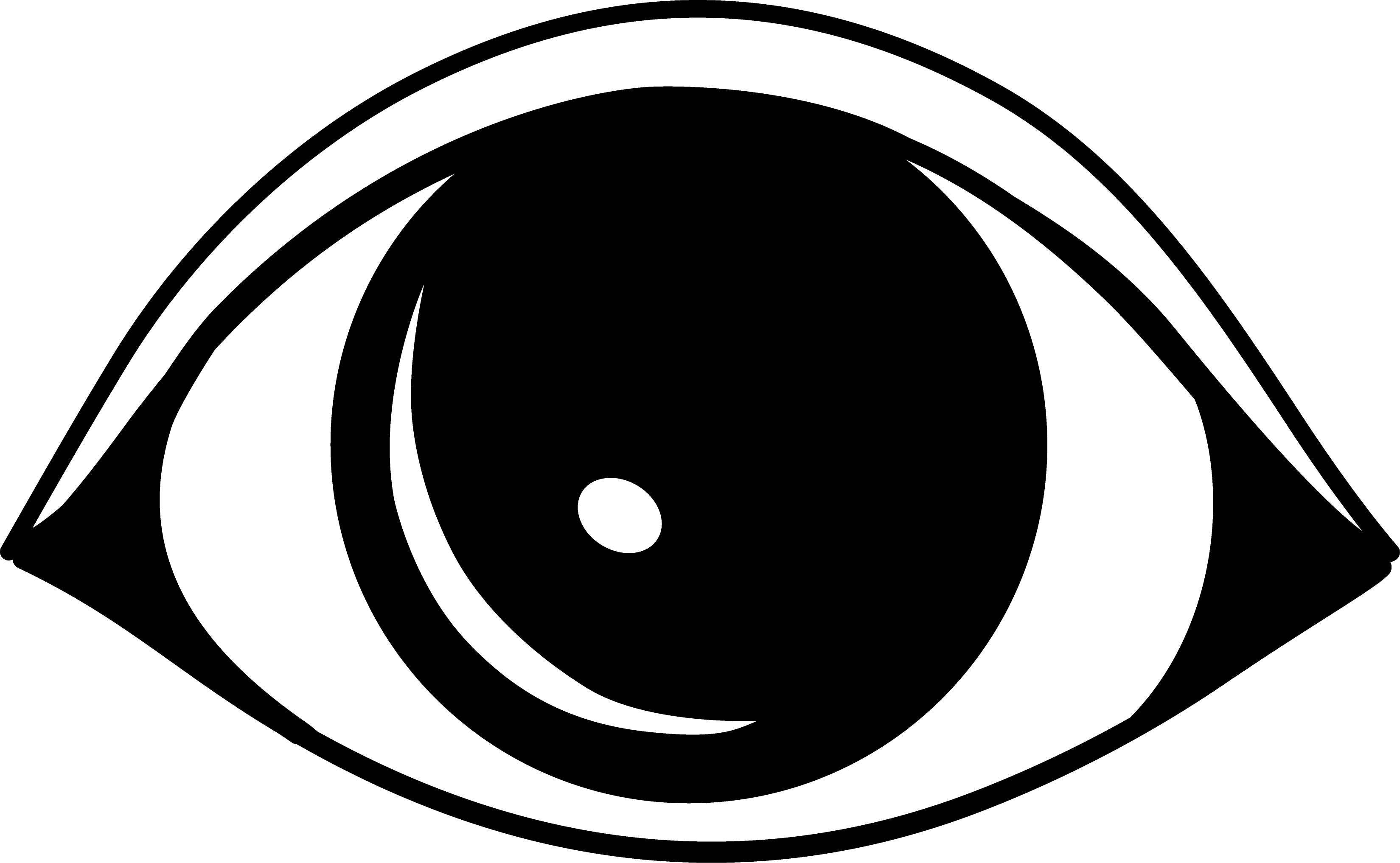 Eye clipart black and white free images