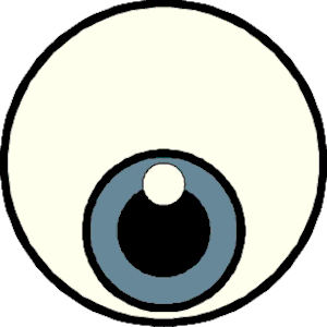 Eyeball eye clip art black and white free clipart images 3 image 2