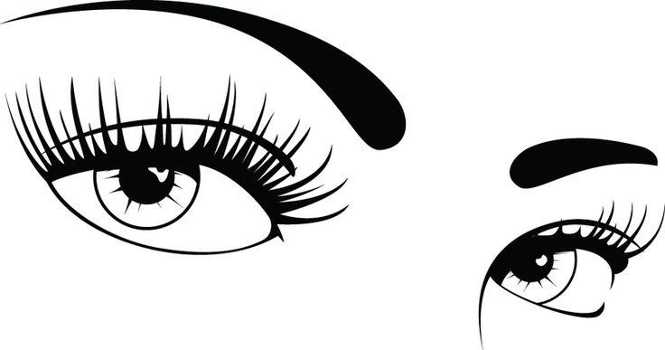 Eyes clipart black and white savoronmorehead