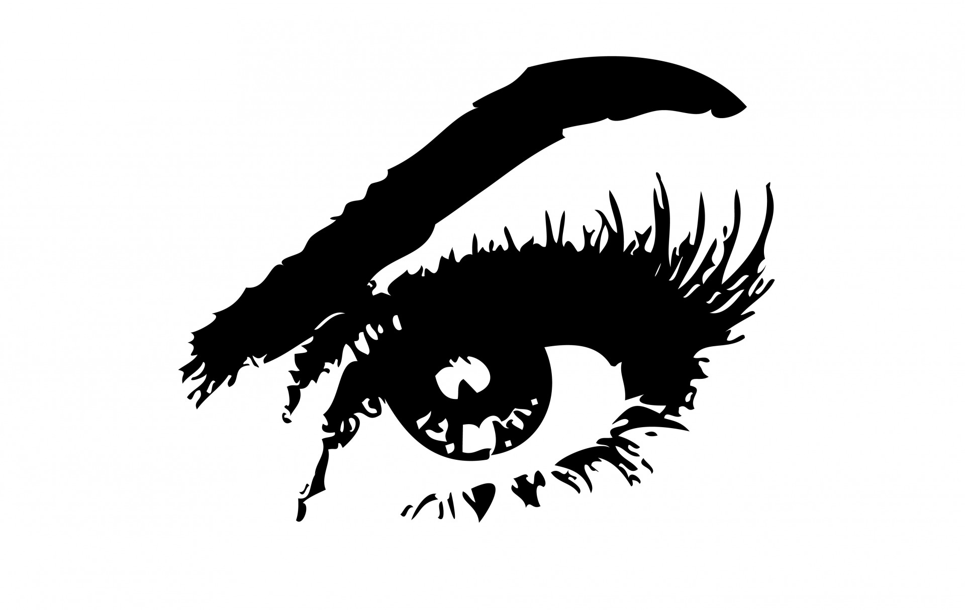 Eyes eye clip art black and white free clipart images 4 2