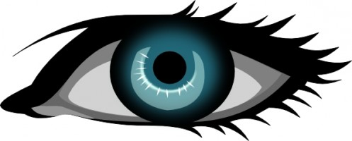 Eyes eye clip art black and white free clipart images 4