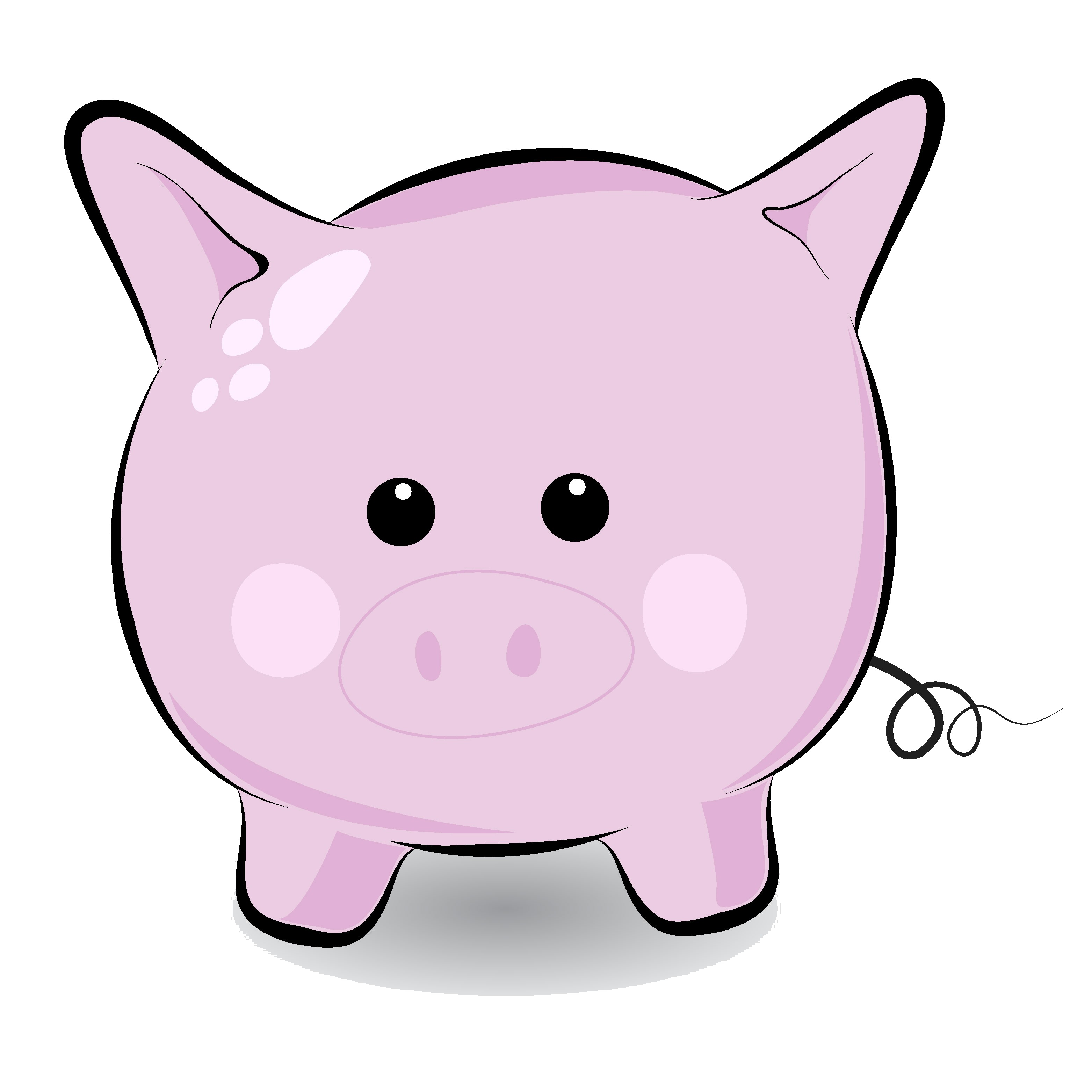 Face pig clipart animal clip art downloadclipart org
