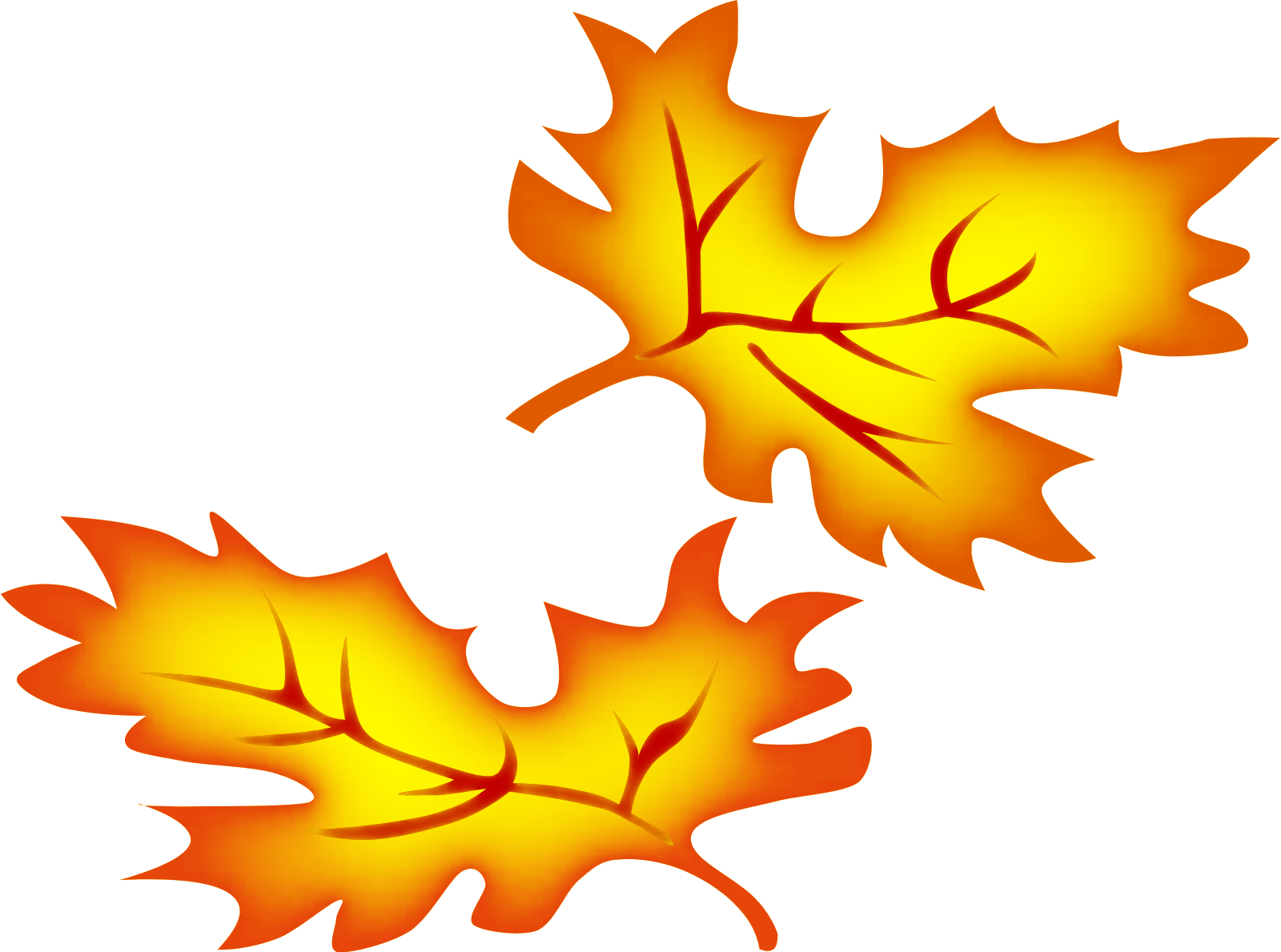 Fall leaves border clipart free images