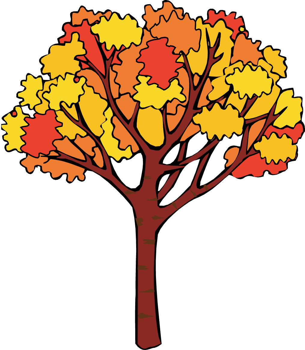 Fall tree clipart free images