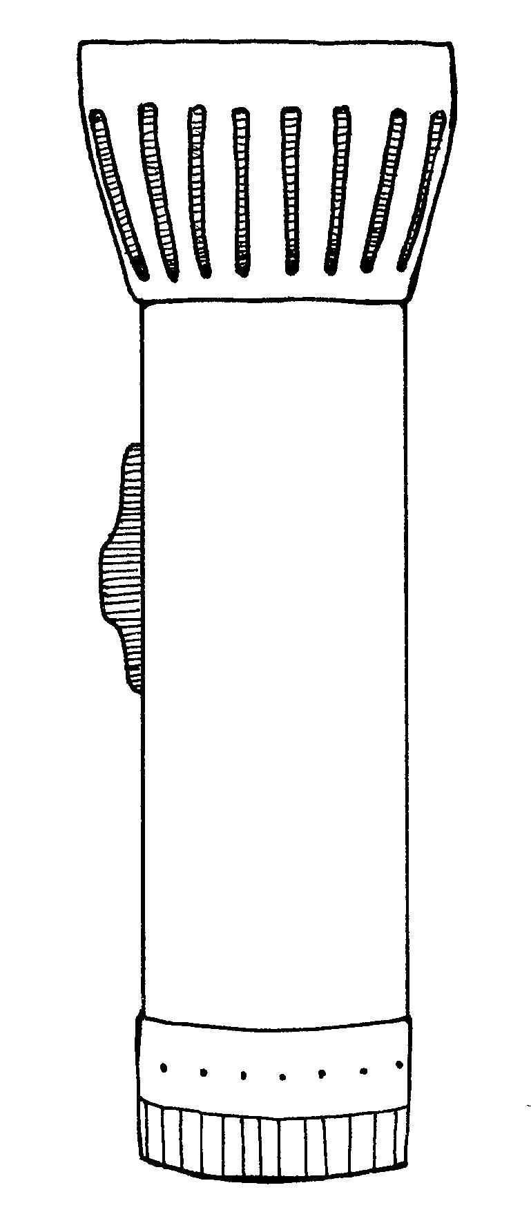 Flashlight clip art at clker vector image