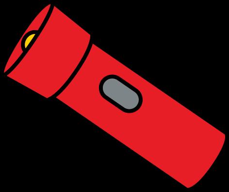 Flashlight clip art from mycutegraphics imagens para atividades