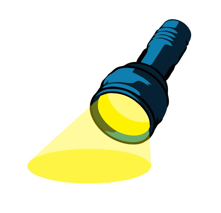 Flashlight clipart clipart