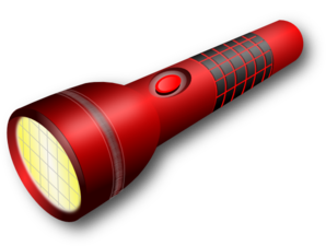 Flashlight clipart free images 3