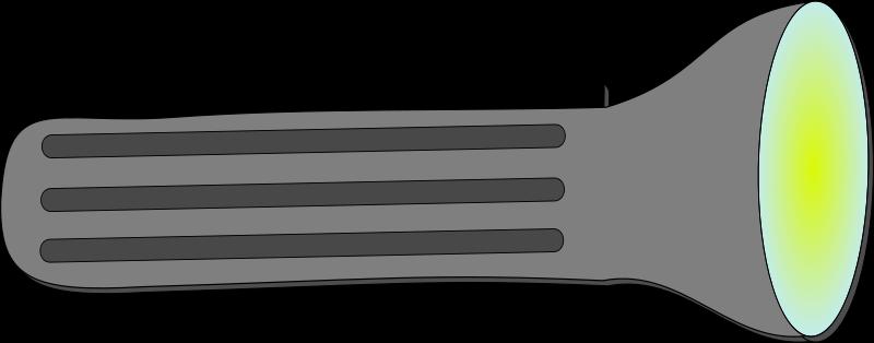 Flashlight free to use clipart