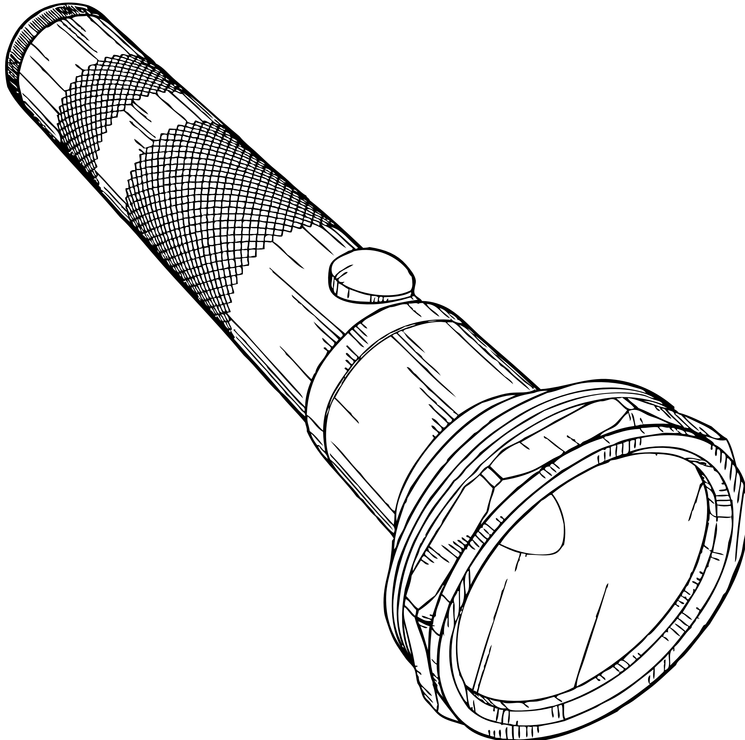 Flashlight merry clip art image 2