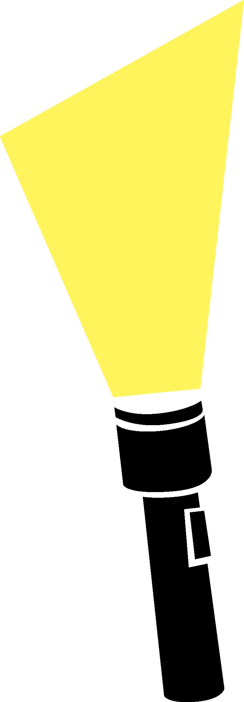 Flashlight merry clip art image