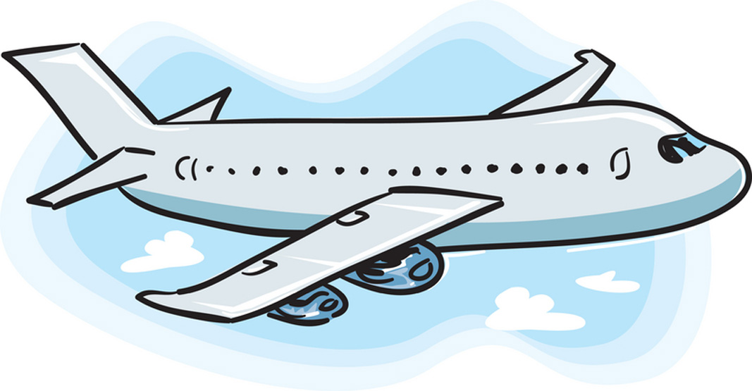 Free airplane clip art pictures