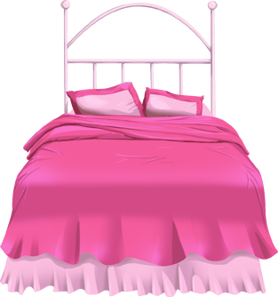 Free bed clipart clip art image of 2