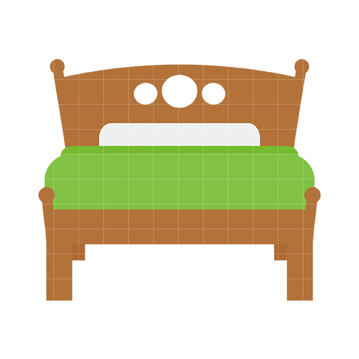 Free bed clipart clip art image of 3