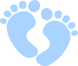 Free clip art baby feet borders clipart images 2