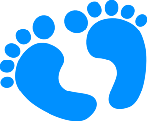Free clip art baby feet borders clipart images 4