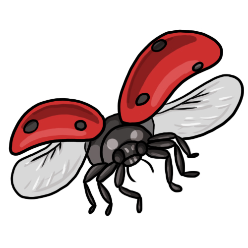 Free ladybug clip art drawings and colorful images 6