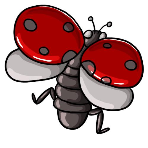 Free ladybug clip art