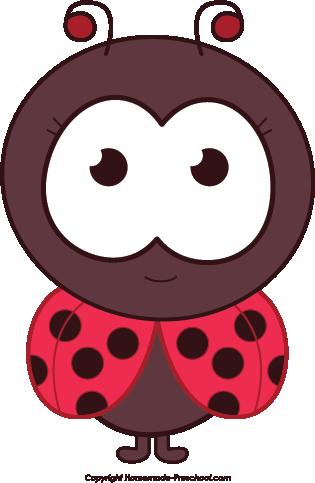 Free ladybug clipart 6