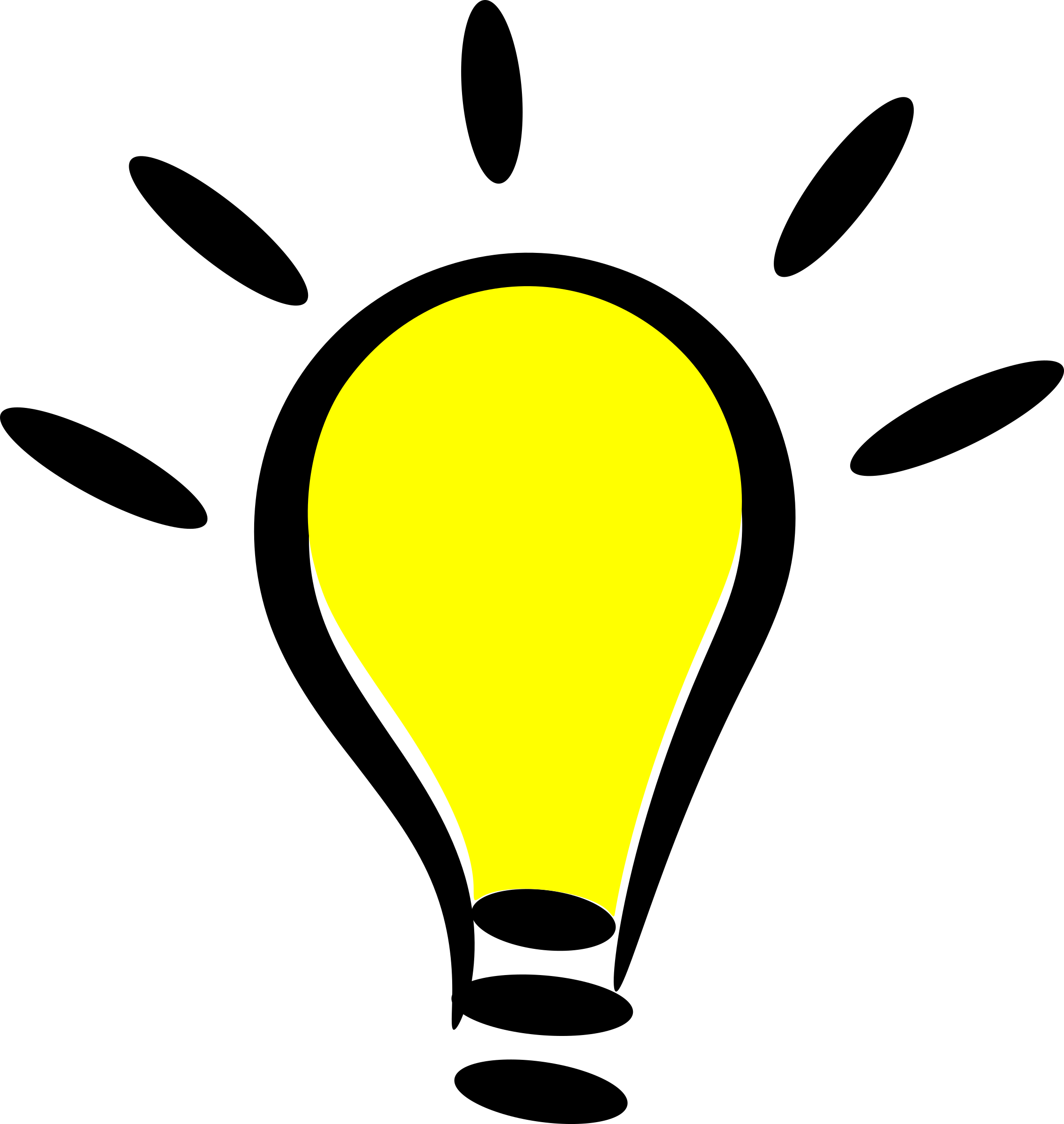 Free light bulb clip art pictures