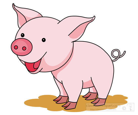 Free pig clipart clip art pictures graphics illustrations