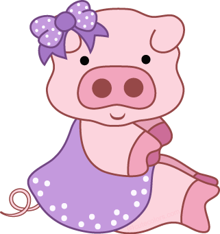Free pig clipart from cutecolors clip art 2