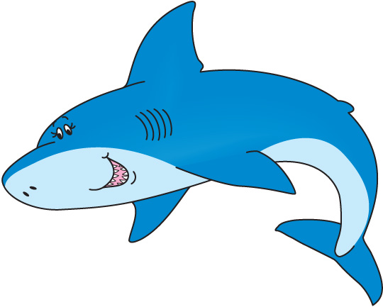 Free shark clip art free clipart images 4