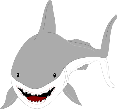 Free shark clip art free clipart images 7
