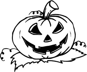 Halloween  black and white free halloween pumpkins clipart clip art