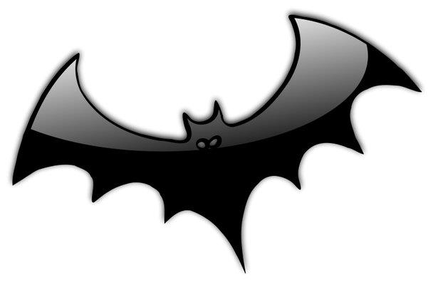 Halloween  black and white halloween bat clipart black and white free