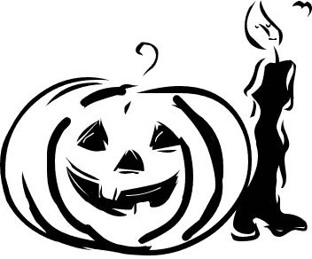 Halloween  black and white halloween black and white halloween clipart 3