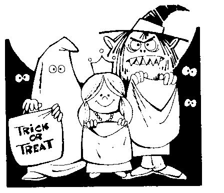 Halloween  black and white halloween black and white happy halloween clipart 3