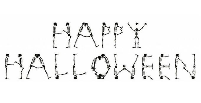 Halloween  black and white halloween black and white happy halloween clipart 4