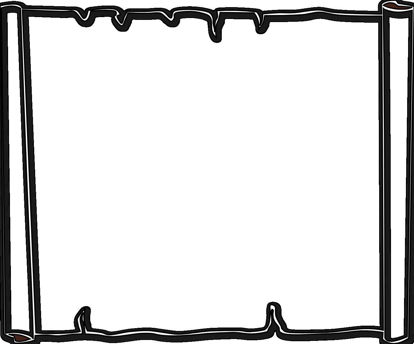 Halloween  black and white halloween clip art black and white border free 3